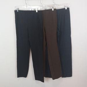 J. Jill Ponte Slim Leg Pants Size Small